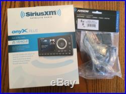 Sirius Satellite Radio Onyx Plus With Vehicle Mount