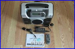 Sirius Satellite Radio STARMATE With Boombox ST-B2 and Lifetime Subscription