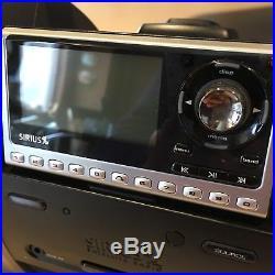 Sirius Satellite Radio SUBX1 Boombox Sportster SP4 PLUS Radio and Vehicle Kit
