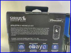 Sirius Satellite Radio Stiletto 2, Home kit & Vehicle Kit SLV2 NEW in SEALED BOX