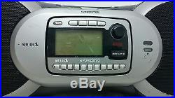 Sirius Satellite Sportster Boombox SP-B1a + Receiver + Lifetime Activated