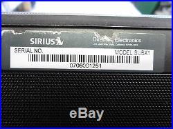 Sirius Satellite Subx1 Boom Box (LifeTime Subscription)
