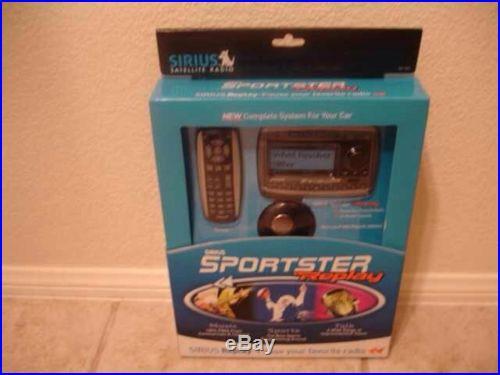 Sirius Satelllite Radio Sportster Replay