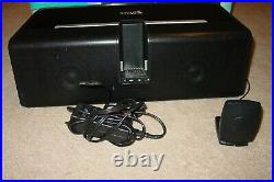 Sirius Sl-bb1 Satellite Radio Stiletto Boombox Speaker Dock 4 Stiletto 10 & 100