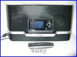 Sirius Sportster5 Radio Active Lifetime Radio withBoombox & New Vehicle Kit