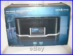 Sirius Sportster5 Radio Active Lifetime Radio withSXABB2 Boombox & New Vehicle Kit