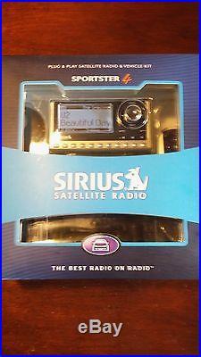 Sirius Sportster 4 SP4-TK1 For Sirius Car & Home Satellite Radio Receiver