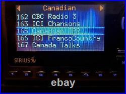 Sirius Sportster 5 Satellite Radio Lifetime activated Boombox AS IS minor prob