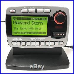 Sirius Sportster ACTIVE SP-R1 Radio LIFETIME SUBSCRIPTION + NEW Home Kit XM 87.7