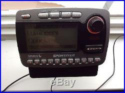 Sirius Sportster FM Satellite Radio SP-R1R