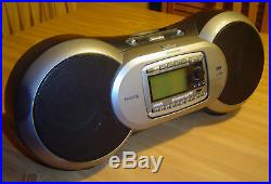 Sirius Sportster R SP-R2 Satellite XM Radio Receiver, Boombox Lifetime Activated