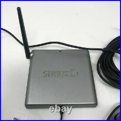 Sirius Sportster Radio Receiver SP3 Active Subscription with Antenna, Dock REMOTE