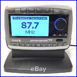 Sirius Sportster Replay ACTIVE SP-R2 Radio LIFETIME SUBSCRIPTION NEW Home Kit XM