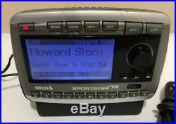 Sirius Sportster Replay SP-R2R Satellite Radio & LIFETIME subscription & car Kit