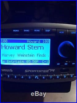 Sirius Sportster Replay SP-R2 Satellite Radio LIFETIME Subscription Howard Stern