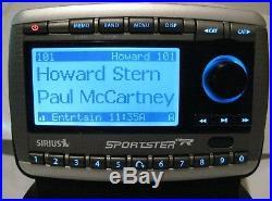 Sirius Sportster Replay SP-R2 Satellite Radio & LIFETIME subscription & car Kit