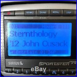 Sirius Sportster Replay SP-R2 Satellite Radio Receiver Lifetime Howard Stern