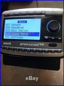 Sirius Sportster Replay SP-R2 Satellite Radio WithLIFETIME Subscription WithCar Kit
