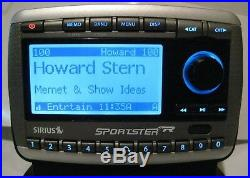 Sirius Sportster Replay SP-R2 Satellite Radio receiver with LIFETIME subscription