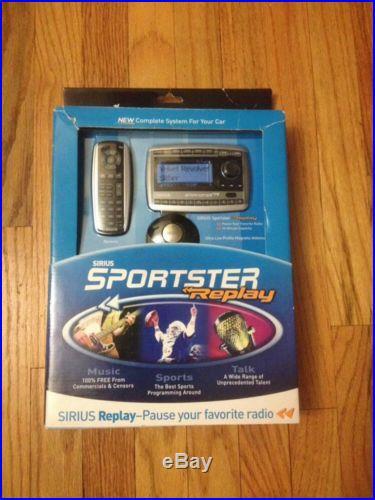 Sirius Sportster Replay SP-TK2 New Sealed