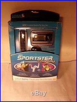 Sirius Sportster Replay SP-TK2 Satellite Radio Vehicle kit LIFETIME Subscription