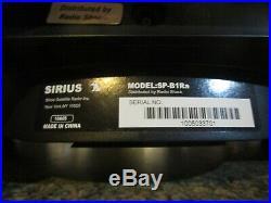 Sirius Sportster SPB1RA satellite radio receiver withboombox Lifetime Subscription