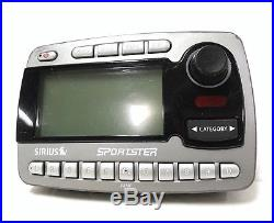 Sirius Sportster SP-R1 ACTIVE Radio with LIFETIME SUBSCRIPTION + BoomBox SP-B1 XM