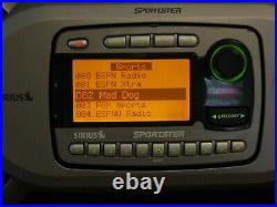 Sirius Sportster SP-R1 Active Subscription Radio withSP-B1 Boombox