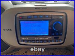 Sirius Sportster SP-R1 Lifetime Subscription Radio withSP-B1 Boombox