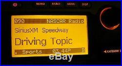 Sirius Sportster SP-R1 Satellite Radio LIFETIME SUBSCRIPTION WORKS HOWARD STERN