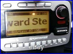Sirius Sportster SP-R1 Satellite Radio LIFETIME subscription