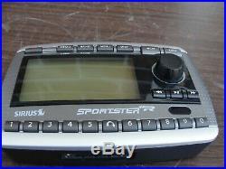 Sirius Sportster SP-R1 XM satellite radio receiver only LIFETIME subscription