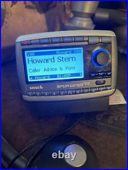 Sirius Sportster SP-R2 Active Subscription Radio