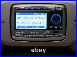 Sirius Sportster SP-R2 Active Subscription Radio with SP-B1RA Boombox