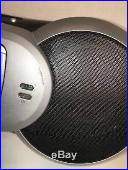 Sirius Sportster SP-R2 Radio Receiver + SP-B1 Boombox + LIFETIME SUBSCRIPTION