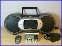 Sirius Sportster SP-R2 SATELLITE RADIO RECEIVER withSP-B1 boombox, lifetime