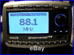 Sirius Sportster SP-R2 Satellite Radio Lifetime Activated Guaranteed