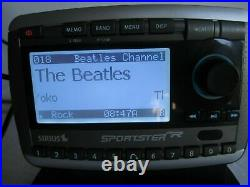 Sirius Sportster SP-R2 Satellite Radio XM Possible Lifetime Subscription