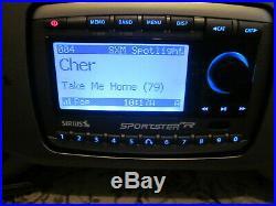 Sirius Sportster SP-R2 satellite fm radio & Remote+ Lifetime Active Subscription