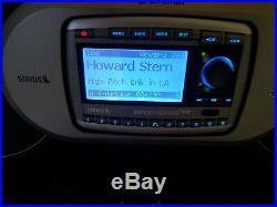 Sirius Sportster SP-R2 satellite radio Boombox FM Lifetime Active Subscription