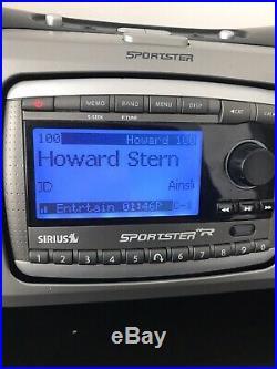 Sirius Sportster SP-R2 satellite radio FM Lifetime Active Subscription Howard St