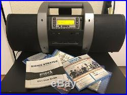 Sirius Sportster SV3R & Subx1r Boombox with Lifetime Subscription! Works Great