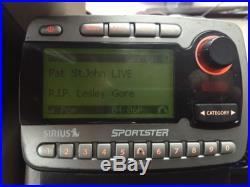 Sirius Sportster Satellite Radio Receiver Car Kit Prepaid Lifetime Subscription