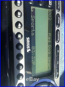 Sirius Starmate 4 ST4 Sirius XM Radio Receiver Boombox SUBX1R Lifetime Subcrip