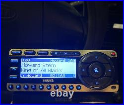 Sirius Starmate 4 ST4 with Lifetime Subscription Howard Stern Satellite Radio