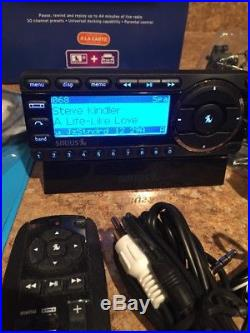 Sirius Starmate 5 Satellite Radio Kit receiver with LIFETIME subscription
