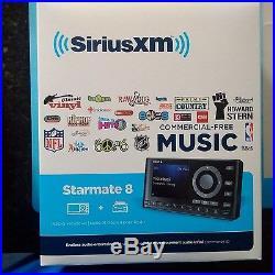 Sirius Starmate 8 Dock & Play Radio with Car Vehicle Kit Sealed! NEW