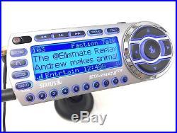 Sirius Starmate Replay ACTIVE ST2 Radio w LIFETIME SUBSCRIPTION + Vehicle Kit XM
