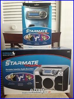 Sirius Starmate Replay Boom Box For Sirius Satellite Radio Receiver ST2RB