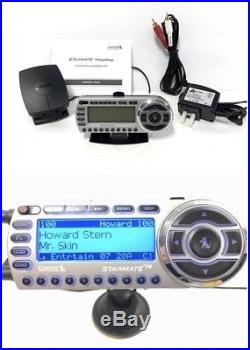 Sirius Starmate Replay ST2 ACTIVE Radio POSSIBLE LIFETIME SUBSCRIPTION +Home Kit